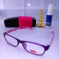 Frame kacamata Levis kacamata minus free lensa minus