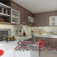 Kitchen set minimalis / furniture murah berkualitas