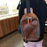 Fossil Waist Bag Brown for man