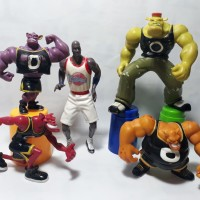 Monstar Space Jam Happy Meal Monster Toys Michael Jordan Figure NBA