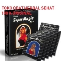 Tissue/Tisu Super Magic Man 1 Kotak isi 6 Pcs
