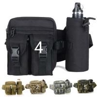 Tas pinggang Dompet /sarung Hp army 726 Multifungsi (tas Gadget Botol)