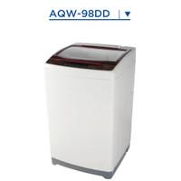 mesin cuci AQUA JAPAN AQW-98DD 9kg TOP LOADING garansi resmi .