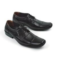Sepatu Pantofel Pria Model Tali Formal KS 2207 Derby Oxford Kulit Asli