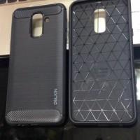 A6+ 2018 Samsung Galaxy Softshell Carbon Series Softcase Premium
