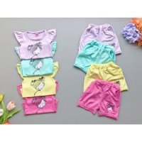 Baju bayi setelan anak perempuan/baju anak perempuan/Baby cute cantik