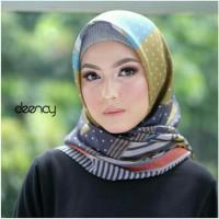 Kerudung voal printed/ hijab scarf deenay bueno