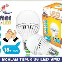 Bohlam LED Sensor Tepuk 15W MS-S0115 Mitsuyama