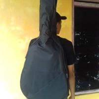 softcase gitar akustik jumbo / tas gitar akustik jumbo tanpa spon