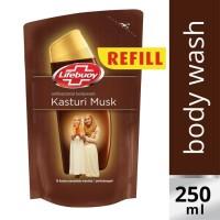 Lifebuoy Liquid Soap Kasturi Musk Reffil 250ml Unilever