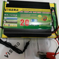 visero digital display charger accu 12v 20a otomatis