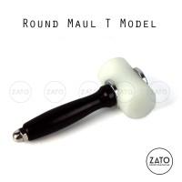 Round Maul T model (hammer) | leather tools | perlengkapan kulit