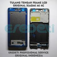 TULANG TENGAH FRAME LCD ORIGINAL XIAOMI MI 4C KD-002911 - Hitam