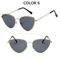 Kacamata Cat Eye Vintage Wanita Sunglasses Fashion