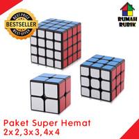 PROMO Paket Rubik 2x2 Rubik 3x3 Rubik 4x4 / Rubik Yongjun / Mainan