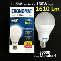 Lampu LED Ekonomat ULTRA 1610 Lm 11,5W Warna Matahari 5000K Bohlam