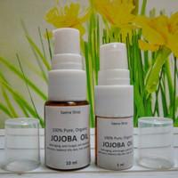10 mL Jojoba Oil 100% Pure Organic // Minyak Jojoba Murni Organik