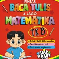 Buku Pintar Baca Tulis dan Jago Matematika TK B - Saufa