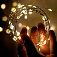 Fairy Lights (10 m) - Lampu Tumblr Tanpa Colokan (Dengan Baterai)
