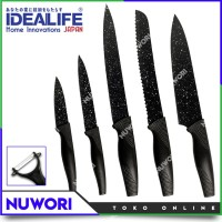 IDEALIFE IL-160 Knife Set Pisau Dapur Lapisan Keramik Anti Bakteri