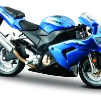 Jual Diecast Miniatur Motor Kawasaki Ninja ZX10 ZX 10 Skala 1/18