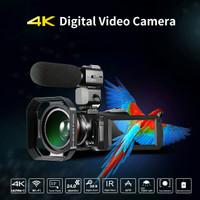 Professional Video Camera 4K Profesional Camcorder