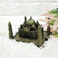 Miniatur Pajangan Replika Negara India Taj Mahal Besi Limited