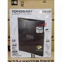 antena toyosaki tv led led indoor analog digital + kabel 10m aio 220