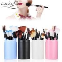 Atdiva Set Brush Make Up Plus Tabung / Alat Kuas Kecantikan Import