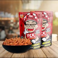 Keripik kripik Jamur Crispy FCK cemilan enak sehat murah Bazar Cemilan