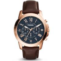 Jam tangan pria Fossil Fs 5068 original + Tin Box Fs ori