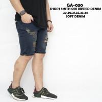 Celana Pendek Jeans Thinbrown Sobek / Celana Jeans Sobek Pria