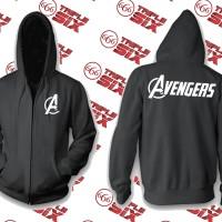 Jaket Hoodie Zipper The Avengers