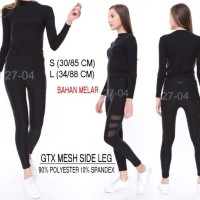 Legging Branded Wanita - GOTTEX MESH SIDE LEG