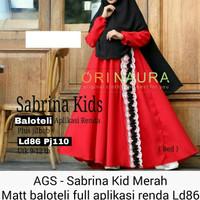 ag Sabrina kids gamis