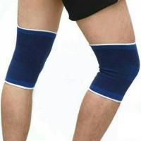 Pelindung Lutut Deker kaki aksesoris futsal bola gym fitness Knee