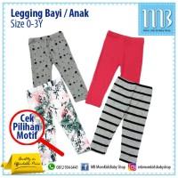 Celana Legging Bayi / Anak Size 0-3Y