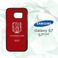 Casing Custom Hardcase Samsung Galaxy S7 Edge Stationary Guard O0037 C