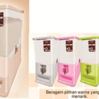 Rice box maspion 12 liter / tempat beras 12 liter / penampungan beras