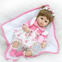 Boneka reborn pink pita NPK doll