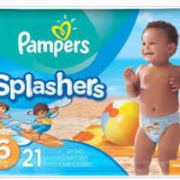 Pampers splashers size 6 splasher swim diaper popok renang (harga/pcs)