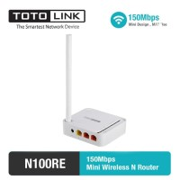 TOTOLINK N100RE - V3 150Mbps Mini Wireless N Router/WiFi Extender/AP