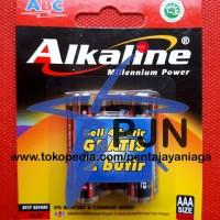Baterai ABC Alkaline AAA / A3 isi 6