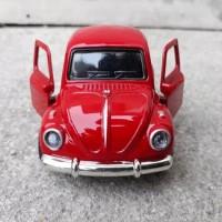 Diecast mobil Volkswagen VW Beetle - Classic Miniatur - Pajangan Mobil