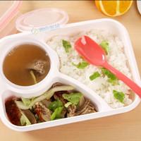 414 lunch box kotak bekal makan yooyee 3 sekat anti bocor tumpah bento