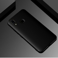 Case Vivo V9 - Black Silicone Premium Polos