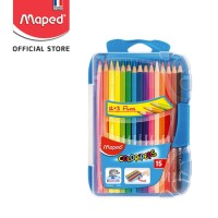 Maped Pensil Warna Smart Box 12' + 3 Fluo