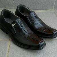 Sepatu pentopel kulit asli garut