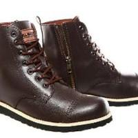 Sepatu safety pria sepatu ujung besi sepatu lapangan se Paling Laris