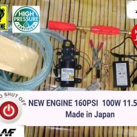 Promo Alat Cuci Mobil Pompa Water Pump Water Gun 12V 80W